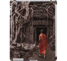 Path to Enlightenment - Ta Prohm Temple Cambodia iPad Case/Skin