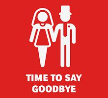 Time To Say Goodbye (Stag Party / Hen Night) / White Womens Fitted T-Shirt