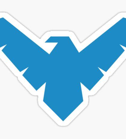 Blue Bird Crime Fighter Sticker