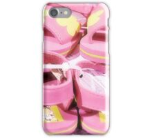 Little Pink Sandals iPhone Case/Skin