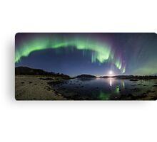 Aurora Panorama Canvas Print