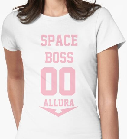 Space Boss Womens Fitted T-Shirt