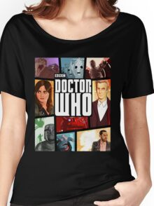 Doctor Who - Series VIII Women's Relaxed Fit T-Shirt