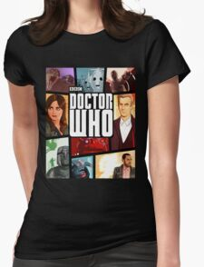 Doctor Who - Series VIII Womens Fitted T-Shirt