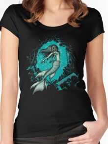 Polluted Fantasy Women's Fitted Scoop T-Shirt