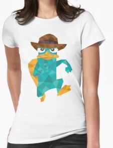 Poly Perry  Womens Fitted T-Shirt