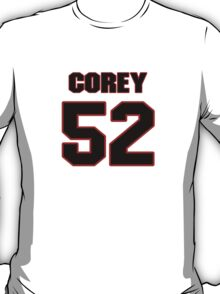 NFL Player Corey Nelson fiftytwo 52 T-Shirt
