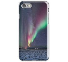 Auroras and the Milky Way iPhone Case/Skin