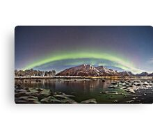 Icy beach Canvas Print