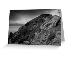 Castle Point Lighthouse, New Zealand Greeting Card