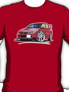 Mitsubishi Evo IX Red T-Shirt