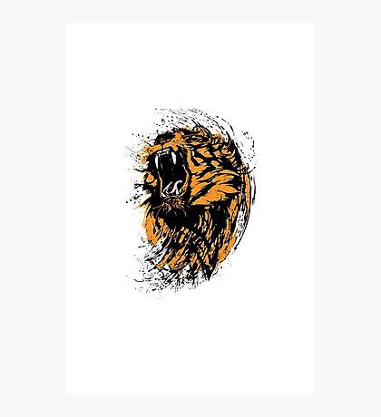 I'm a Tiger Photographic Print