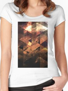 Space lost Women's Fitted Scoop T-Shirt