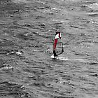 Windsurfing  by Roxy J