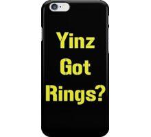 Pittsburgh Steelers Yinz Got RIngs? iPhone Case/Skin