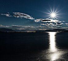 Full moon by Frank Olsen
