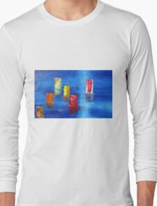 Tranquil   Reflections. Long Sleeve T-Shirt