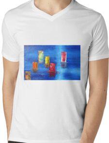 Tranquil   Reflections. Mens V-Neck T-Shirt