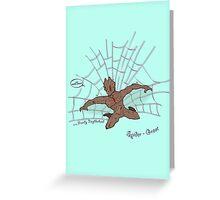 The freindly neighberhood Spider-Groot Greeting Card