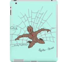 The freindly neighberhood Spider-Groot iPad Case/Skin