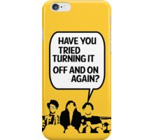 the IT crowd ipad case iPhone Case/Skin