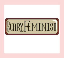 Scary Feminist Vintage Pixel Kids Clothes