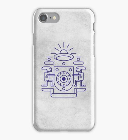 UFO Watchers iPhone Case/Skin