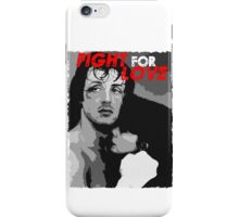 Rocky: Fight For Love iPhone Case/Skin