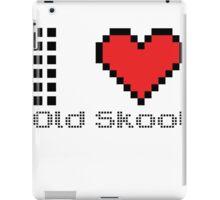 I love old skool iPad Case/Skin