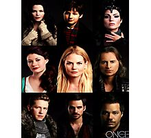 Characters Poster Photographic Print