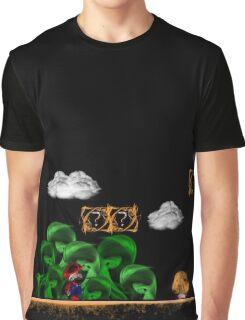 Super Mario 3 World 1 Donut Plains Graphic T-Shirt