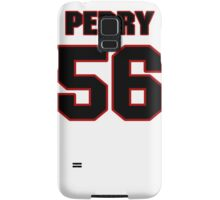 NFL Player Perry Riley fiftysix 56 Samsung Galaxy Case/Skin