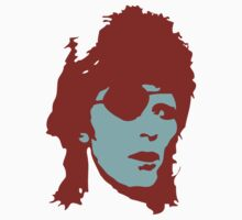David Bowie Eye Patch by retroretro