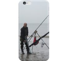 A sea fisherman at  Fleetwood. iPhone Case/Skin