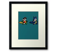 Lets go and save the day! Framed Print