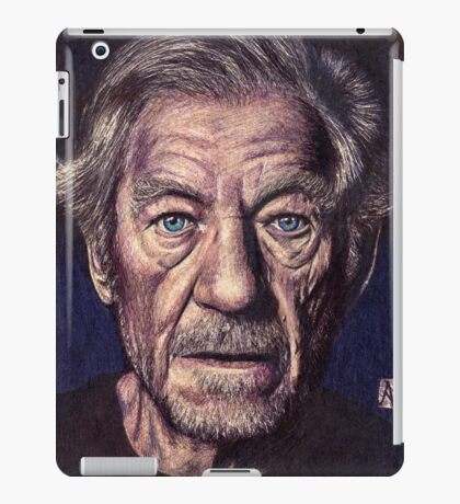 Sir Ian Mckellen iPad Case/Skin