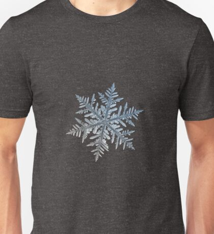 Silverware, snowflake macro photo Unisex T-Shirt