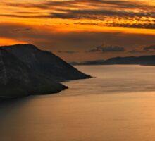 Ionian Panorama Sunset Sticker