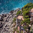 Cliffs of Capri by phil decocco