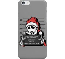 Jack's Nightmare After Christmas iPhone Case/Skin