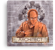 The Architect - George Costanza Canvas Print