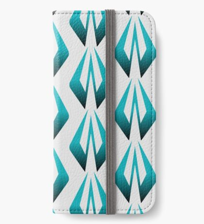 Kimi Raikkonen Logo - Blue iPhone Wallet/Case/Skin