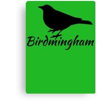 Birdmingham Canvas Print