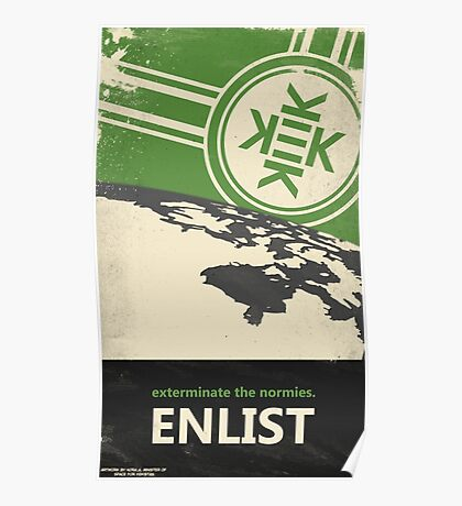Exterminate the normies. - Kekistan Poster Poster