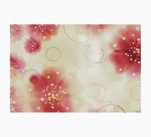 Pink flowers background 3 Kids Clothes