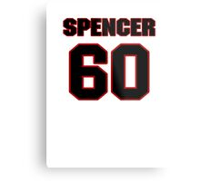 NFL Player Spencer Long sixty 60 Metal Print
