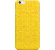 Yellow Brick Wall iPhone Case/Skin