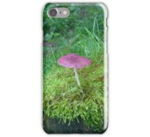 Purple Mushroom iPhone Case/Skin