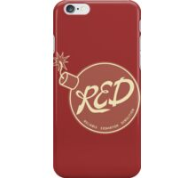 Red Team - Reliable Excavation Demolition iPhone Case/Skin