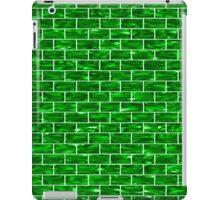Green Brick Wall iPad Case/Skin